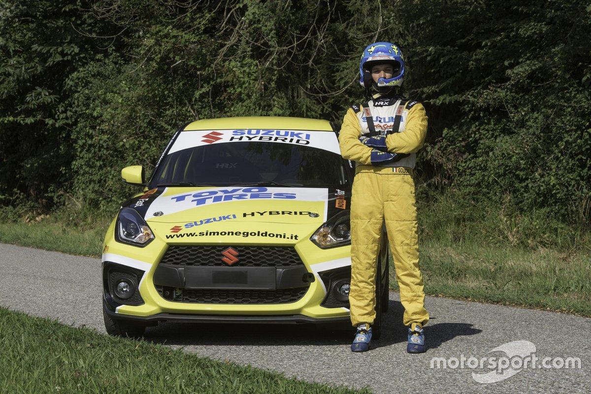 Simone Goldoni, Suzuki Motorsport, Suzuki Swift Sport Hybrid R1