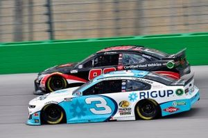 Austin Dillon, Richard Childress Racing, Chevrolet Camaro RigUp and Daniel Suarez, Gaunt Brothers Racing, Toyota Camry Toyota Certified Used Vehicles