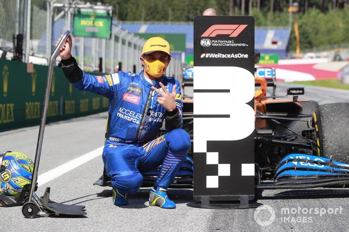 #3: Lando Norris, GP de Austria 2020