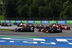 Devlin DeFrancesco, Trident, Liam Lawson, Hitech Grand Prix, Richard Verschoor, MP Motorsport, Frederik Vesti, Prema Racing