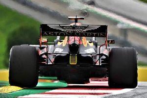 Detalle del difusor del Red Bull Racing RB16
