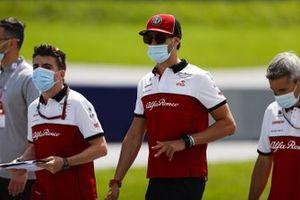 Antonio Giovinazzi, Alfa Romeo cammina in pista