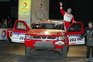 Colin McRae, Tina Thorner, Nissan