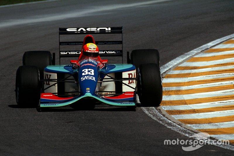 Mauricio Gugelmin, Jordan 192 Yamaha