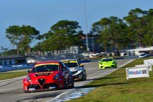 #3 Alfa Romeo Giulietta TCR, KMW Motorsports with TMR Engineering, Alex Popow, Alexandre Papadopulos