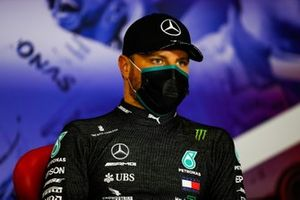Valtteri Bottas, Mercedes-AMG Petronas F1, in the Press Conference