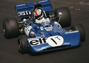 Francois Cevert, Tyrrell 002 Ford during practice