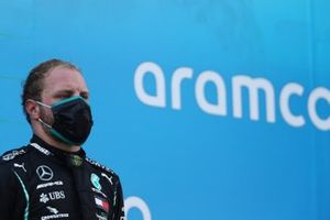 Valtteri Bottas, Mercedes-AMG Petronas F1, 3rd position, on the podium