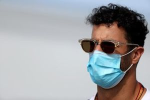 Daniel Ricciardo, Renault F1 llega al circuito