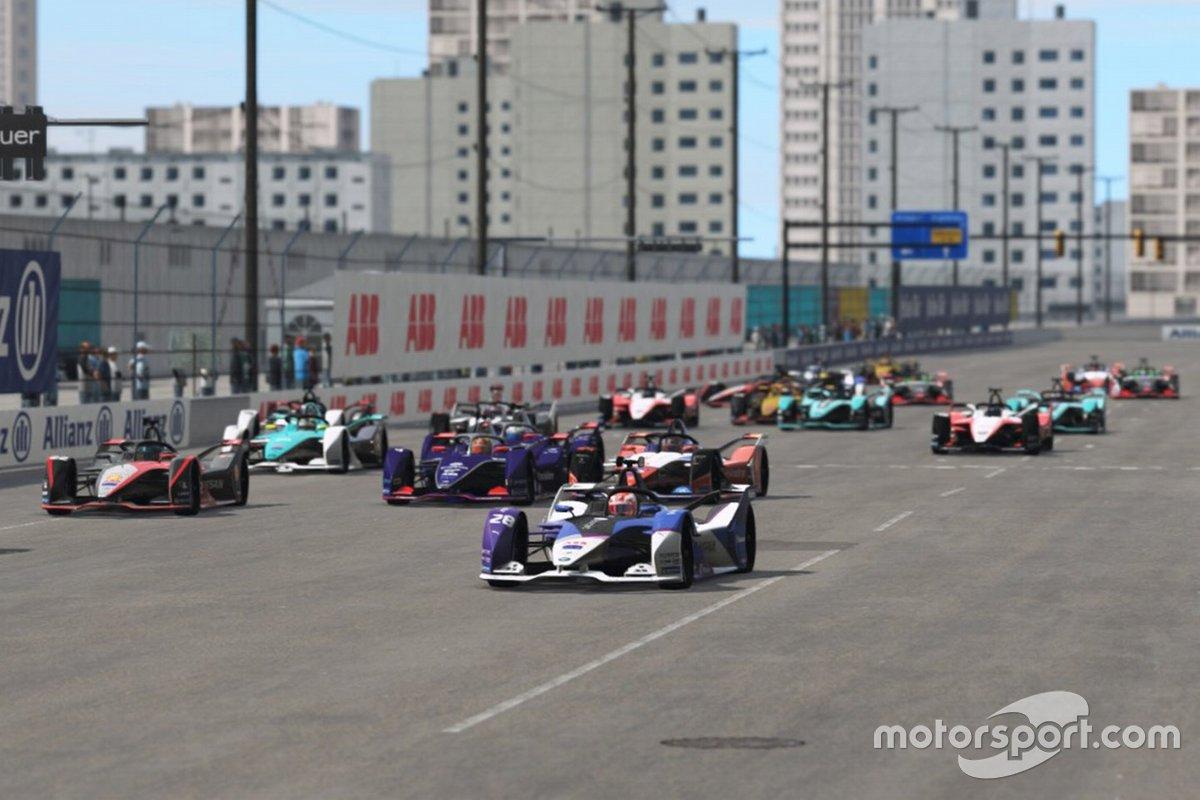 Maximilian Günther, BMW I Andretti Motorsports al comando alla partenza