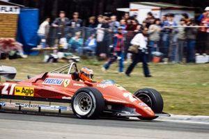Жиль Вильнёв, Ferrari 126C2