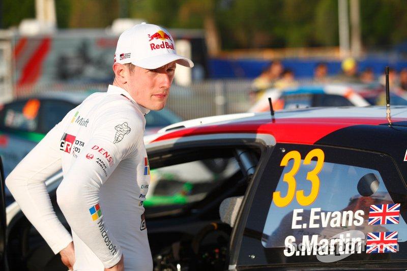 Elfyn Evans, Toyota Gazoo Racing
