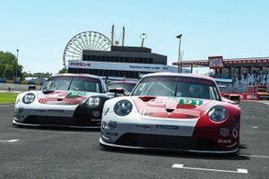 #91 Porsche Esports Team Porsche 911 RSR: André Lotterer, Neel Jani, Mitchell Dejong, Martti Pietilä, #92 Porsche Esports Team Porsche 911 RSR: Jaxon Evans, Matt Campbell, Mack Bakkum, Jeremy Bouteloup