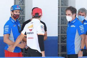 Алекс Ринс, Team Suzuki MotoGP, Марк Маркес, Repsol Honda Team и Давиде Бривио