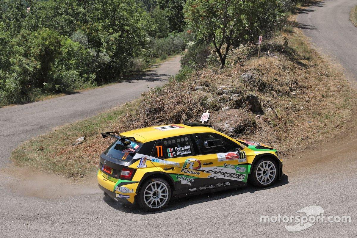 Ivan Ferrarotti, Andrea Prizzon, Meteco Corse, Skoda Fabia R5 R