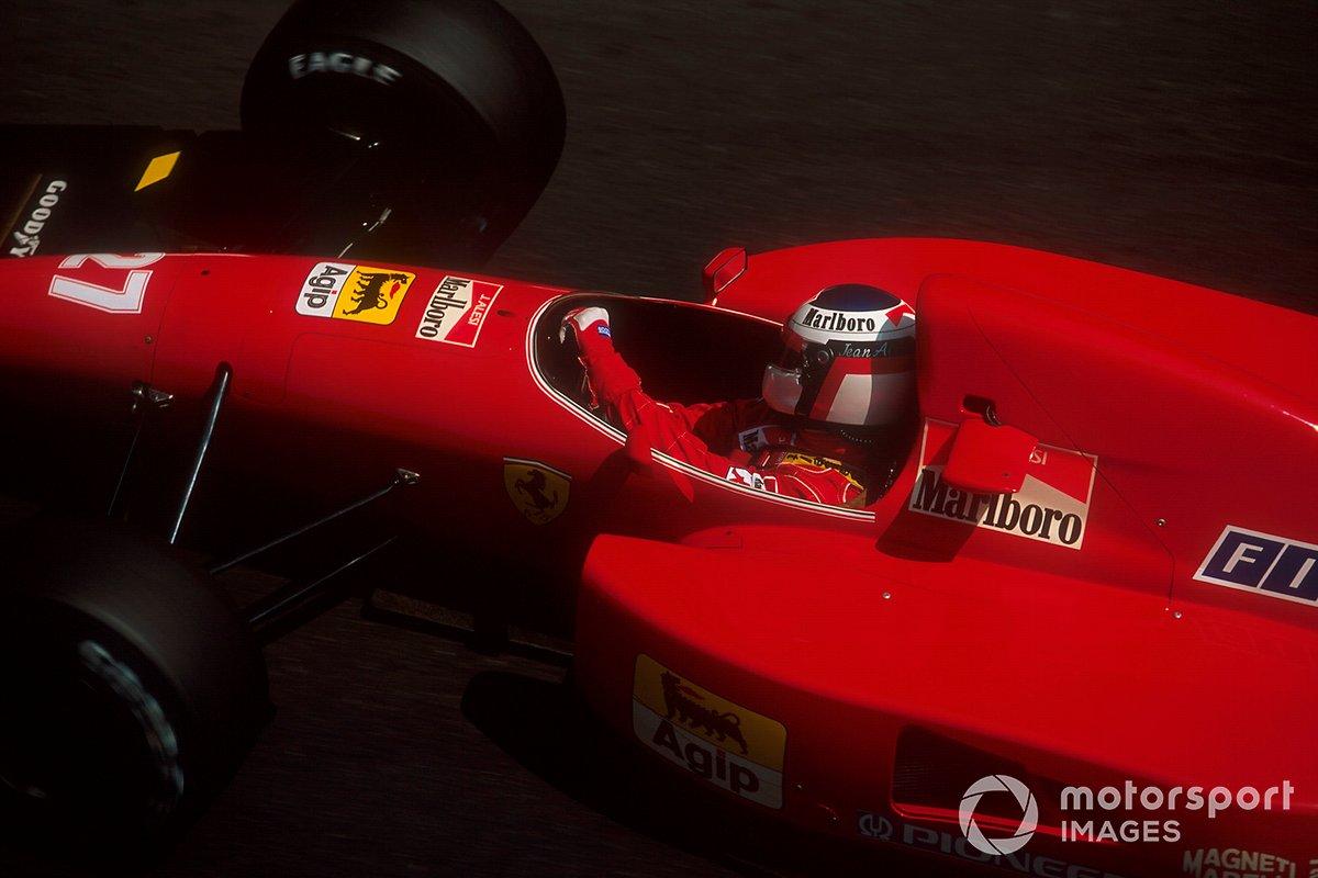 Jean Alesi, Ferrari F92A