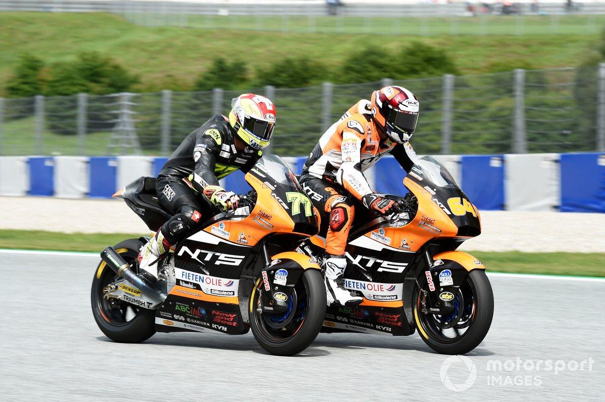 Dominique Aegerter, NTS RW Racing GP, Bo Bendsneyder, RW Racing GP