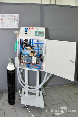 جهاز التنفس من إنتاج حلبة البحرين الدولية