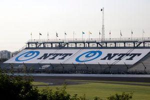NTT grandstand