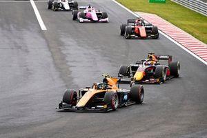 Guilherme Samaia, Campos Racing and Yuki Tsunoda, Carlin