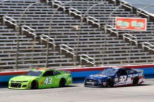Darrell Wallace Jr., Richard Petty Motorsports, Chevrolet Camaro Cash App, Corey LaJoie, Go FAS Racing, Ford Mustang Trump 2020