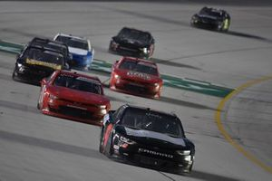 Kyle Weatherman, Mike Harmon Racing, Chevrolet Camaro, #0: Jeffrey Earnhardt, JD Motorsports, Chevrolet Camaro TeamJDMotorsports.com