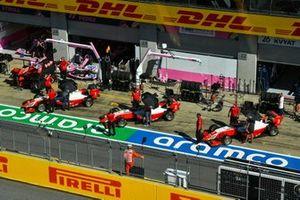 Oscar Piastri, Prema Racing, Frederik Vesti, Prema Racing and Logan Sargeant, Prema Racing