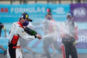 Lucas Di Grassi, Audi Sport ABT celebrates on the podium