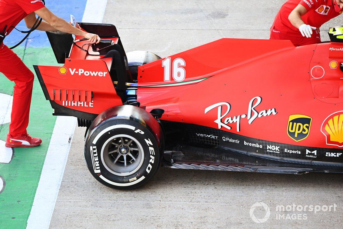 Ferrari SF1000: Heckflügel