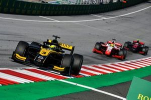 Guanyu Zhou, UNI-Virtuosi, Mick Schumacher, Prema Racing and Callum Ilott, UNI-Virtuosi