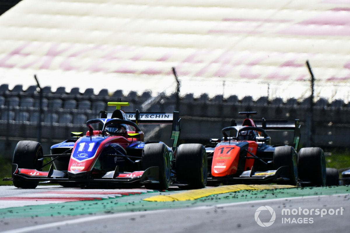 Devlin DeFrancesco, Trident e Richard Verschoor, MP Motorsport