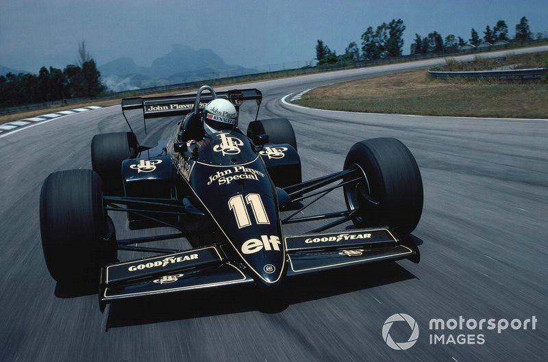 Elio de Angelis, Lotus 95T Renault