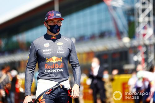 """Verstappen """"not interested"""" in ongoing chatter on Silverstone crash"""