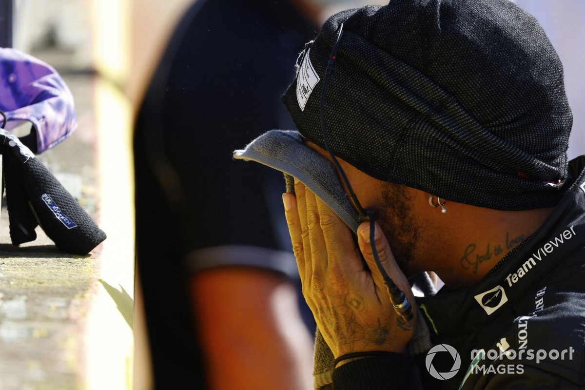 Segundo lugar de la carrera Sprint, Lewis Hamilton, Mercedes