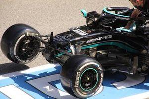 Mercedes W12 front detail