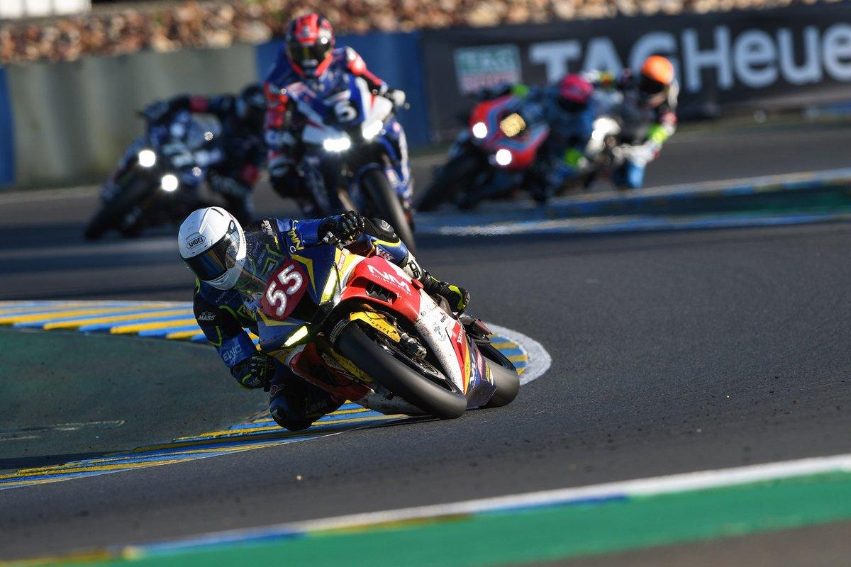 #55 National Motos: Stephane Egea, Guillaume Antiga, Kevin Trueb
