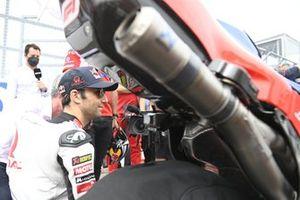 Pot d'échappement de la machine de Johann Zarco, Pramac Racing