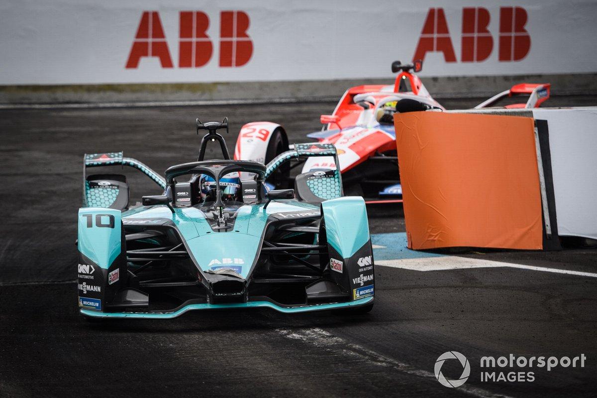 Sam Bird, Jaguar Racing, Jaguar I-TYPE 5, Alexander Sims, Mahindra Racing, M7Electro