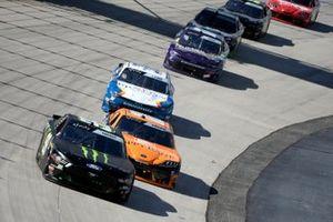 Riley Herbst, Stewart-Haas Racing, Ford Mustang Monster Energy, Daniel Hemric, Joe Gibbs Racing, Toyota Supra Poppy Bank