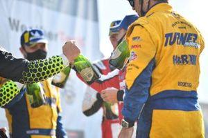 Le podium en classe GTD