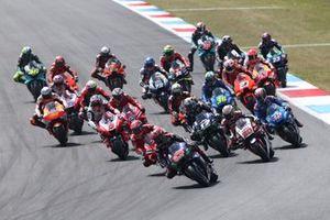 Фабио Куартараро, Yamaha, старт гонки