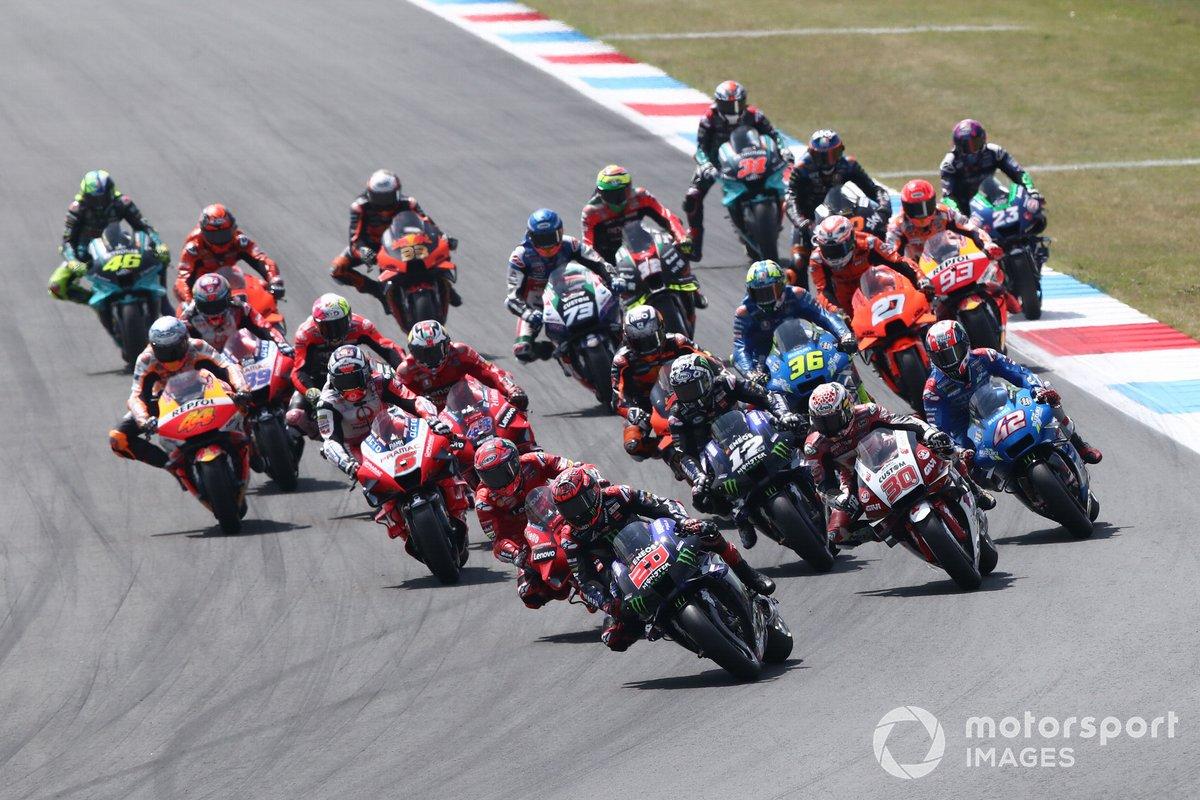 Fabio Quartararo, Yamaha Factory Racing líder al inicio