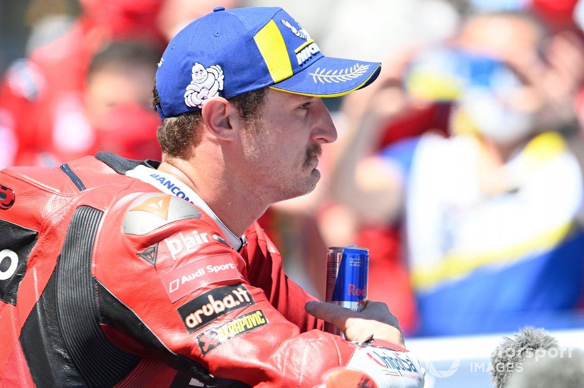 Il vincitore del GP di Spagna Jack Miller, Ducati Team