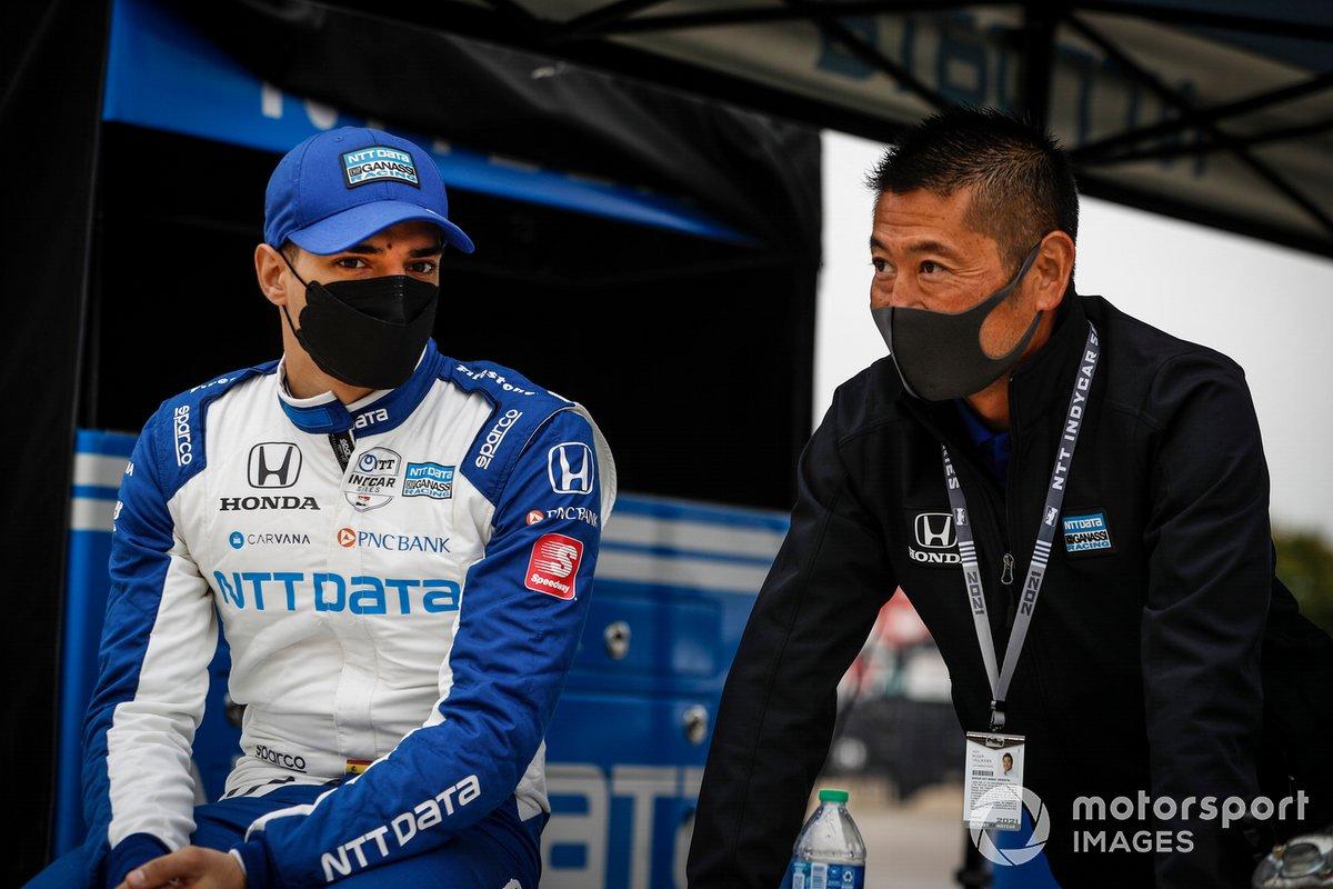 Alex Palou, Chip Ganassi Racing Honda, Roger Yasukawa