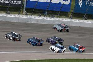 Renn-Action auf dem Kansas Speedway in Kansas City