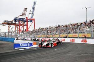 Rene Rast, Audi Sport ABT Schaeffler, Audi e-tron FE07, Oliver Rowland, Nissan e.Dams, Nissan IMO2