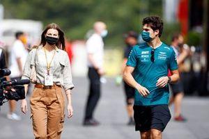 Sara Pagliaroli and Lance Stroll, Aston Martin