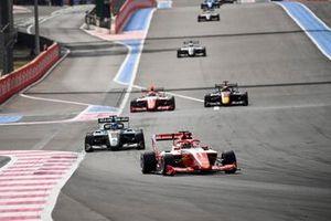 Dennis Hauger, Prema Racing and Matteo Nannini, HWA RACELAB