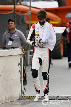 Theo Pourchaire, ART Grand Prix after retiring from the race