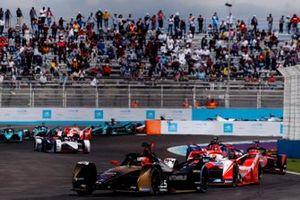 Jean-Eric Vergne, DS Techeetah, DS E-Tense FE21, Alex Lynn, Mahindra Racing, M7Electro, Sebastien Buemi, Nissan e.Dams, Nissan IMO2